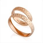Обручальные кольца золотые E108005 весом 6.32 г