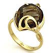 Кольцо с раухтопазом из желтого золота SL-2140-RT весом 4.33 г  стоимостью 19485 р.