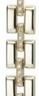 Браслет для часов из золота 226285 весом 16.5 г  стоимостью 61050 р.