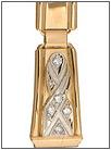 Браслет для часов с бриллиантами AN-800 весом 18 г  стоимостью 107000 р.