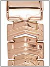 Золотой браслет для часов браслеты для часов из золота 18 мм 42008 весом 30 г  стоимостью 107970 р.