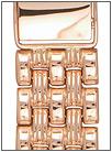 Золотой браслет для часов браслеты для часов из золота 18 мм 42009 весом 30 г  стоимостью 107970 р.