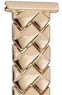 Золотой браслет для часов браслеты для часов из золота 18 мм 58212 весом 21 г  стоимостью 75579 р.