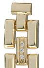Золотой браслет для часов 606580 весом 17.5 г  стоимостью 64750 р.