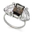Серебряное кольцо с большим аметистом и раухтопазом SL-02133-489 весом 4.89 г  стоимостью 4350 р.