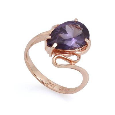 Кольцо из золота с александритом (синтетическим) 4.2 г SL-2857-400