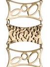 Золотой браслет женский 51708/1 весом 18.7 г  стоимостью 68255 р.