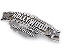 Пряжка из серебра ручной работы «HOLLYWOOD» SLY-7031 весом 0 г