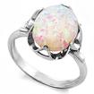 Серебряное кольцо с опалом SL-0222-280 весом 2.8 г  стоимостью 1750 р.