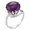 Серебряное кольцо с синтетическим александритом SL-2159-459 весом 4.59 г  стоимостью 2200 р.