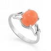 Серебряное кольцо с кораллом SL-2296-252 весом 2.52 г  стоимостью 1500 р.