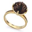 Кольцо с раухтопазом золото SL-2841-440 весом 3.3 г  стоимостью 9950 р.