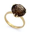 Кольцо из золота с раухтопазом SL-2848-417 весом 4.17 г  стоимостью 18765 р.