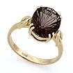 Кольцо с раухтопазом - дымчатый кварц SL-2854-372 весом 3.72 г  стоимостью 16740 р.
