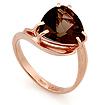 Кольцо с раухтопазом из красного золота Sl-2851-405 весом 4.04 г  стоимостью 18180 р.