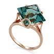 Золотое кольцо <noindex>с кварцем</noindex> &mdash; <em>имитация аквамарина</em> SL-2254-486 весом 4.86 г  стоимостью 21384 р.